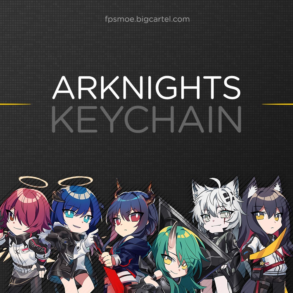Image of Arknights Duo Keychain