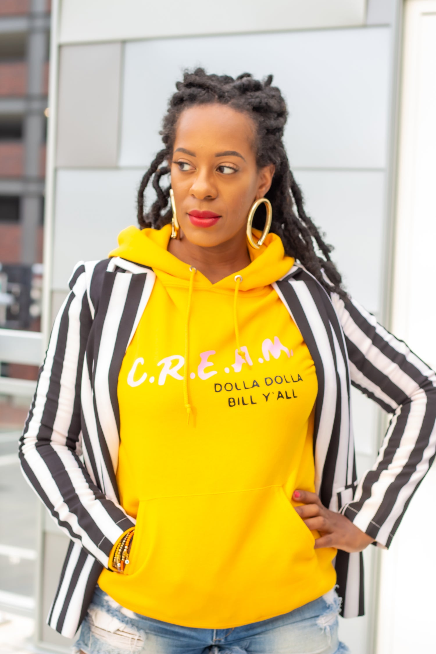 Image of 'Cream' Cash Rules Hoodie (S-2X)