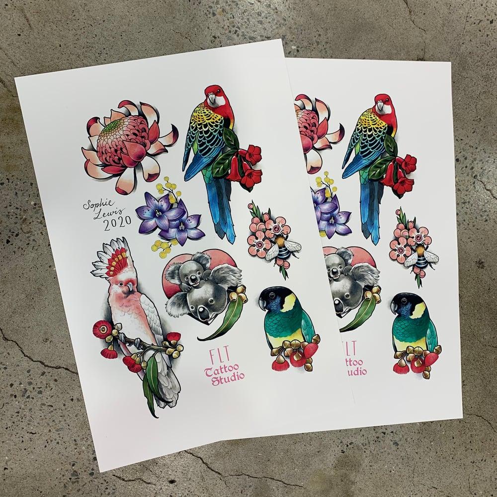 Image of Flora & Fauna Print