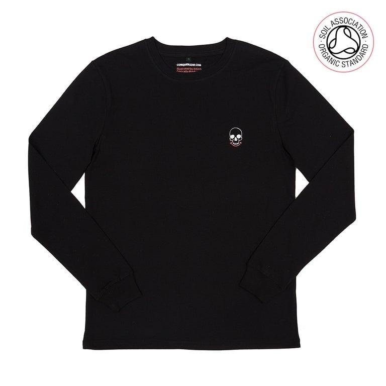 ADVANCE ORDER - Long sleeve logo Tee (Organic)