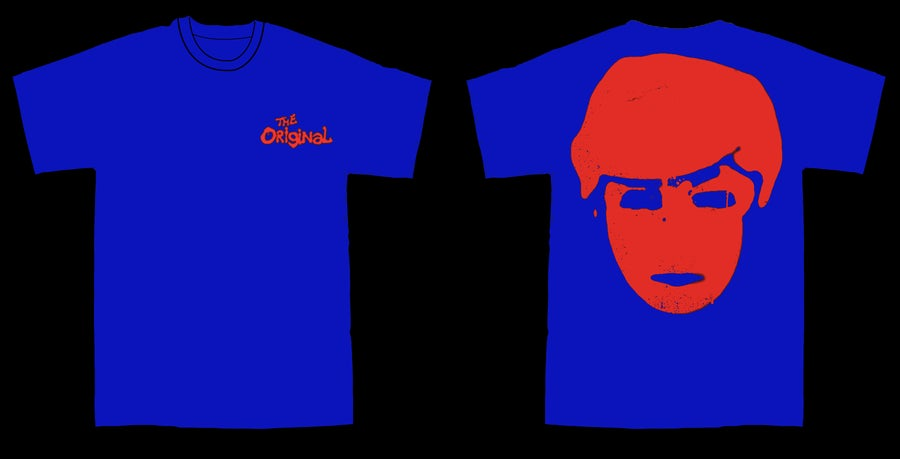 Image of THE ORIGINAL DEFACED TEE [ROYAL BLUE]
