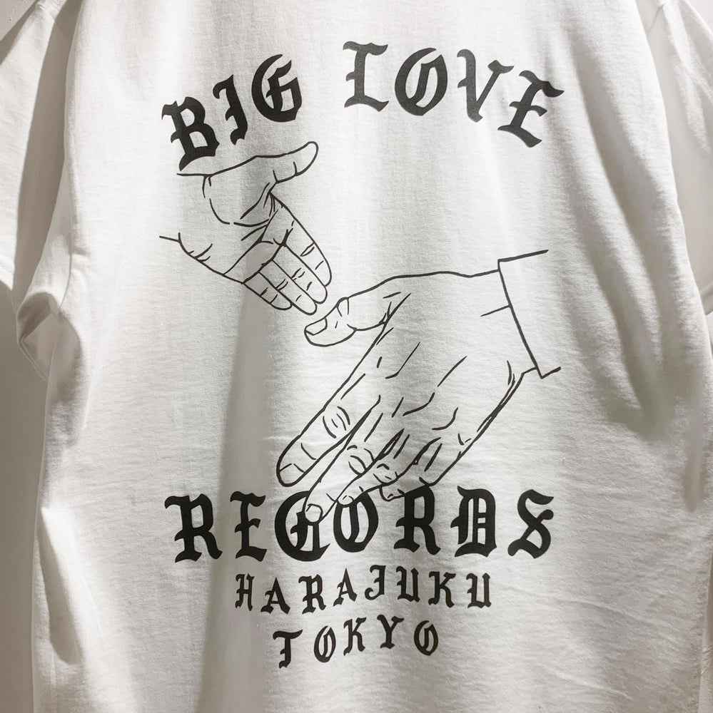 Image of HANDS T-SHIRT -WHITE-