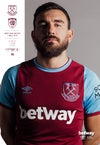 West Ham United v Hull City  22/09/20 *Including UK postage
