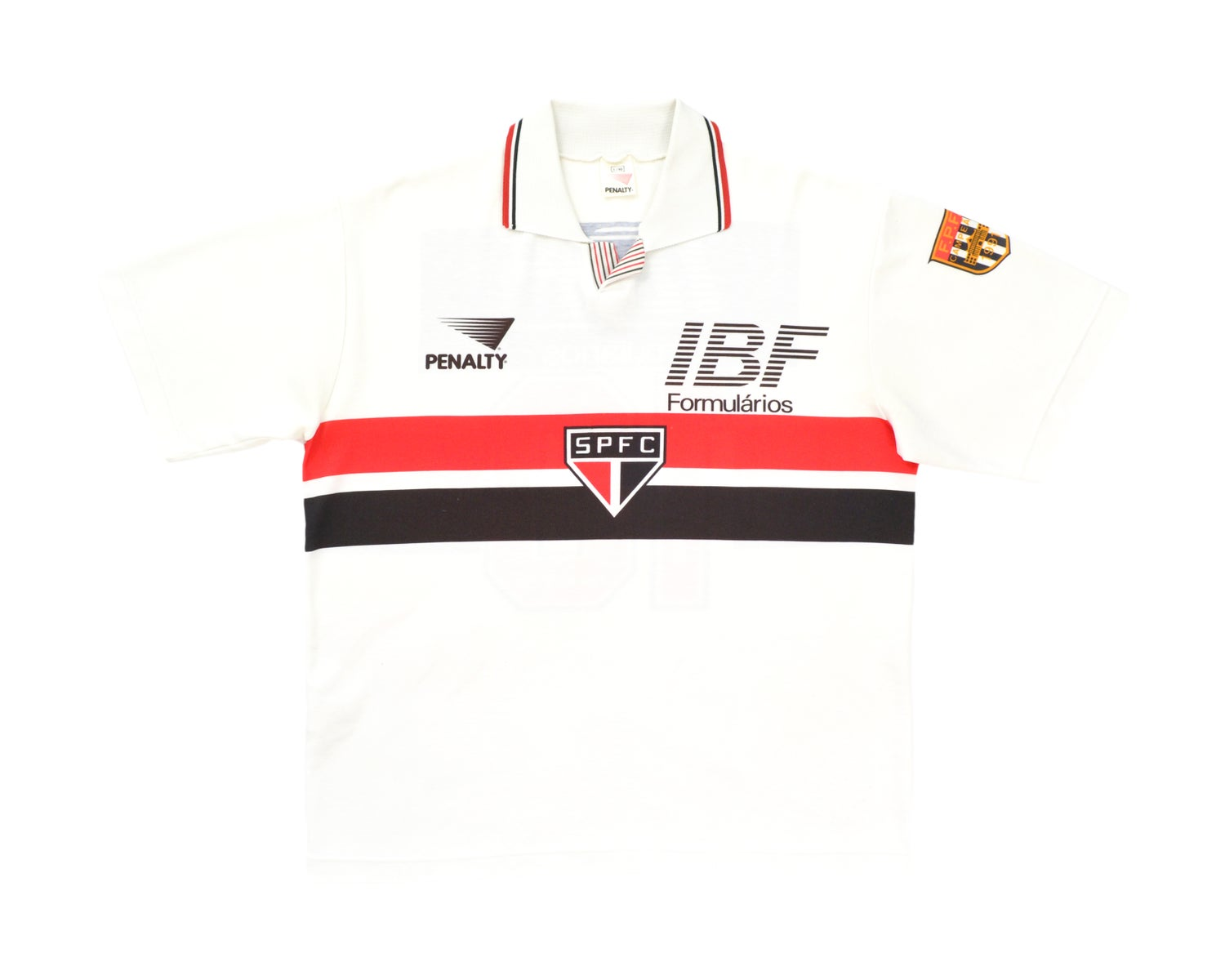 Image of 1991 Penalty Sao Paulo Home Shirt '10' M/L