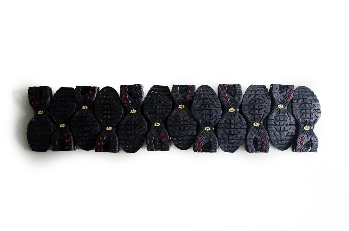 Image of SNEAKERS WALL ART  / FULL BLACK