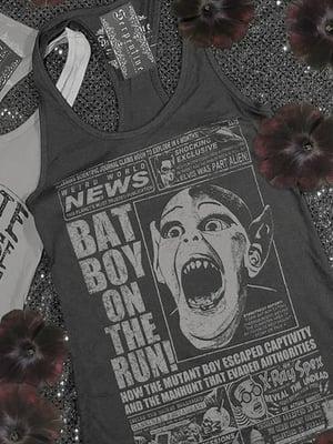 Image of SERPENTINE CLOTHING Batboy Women's Racerback Tank Top