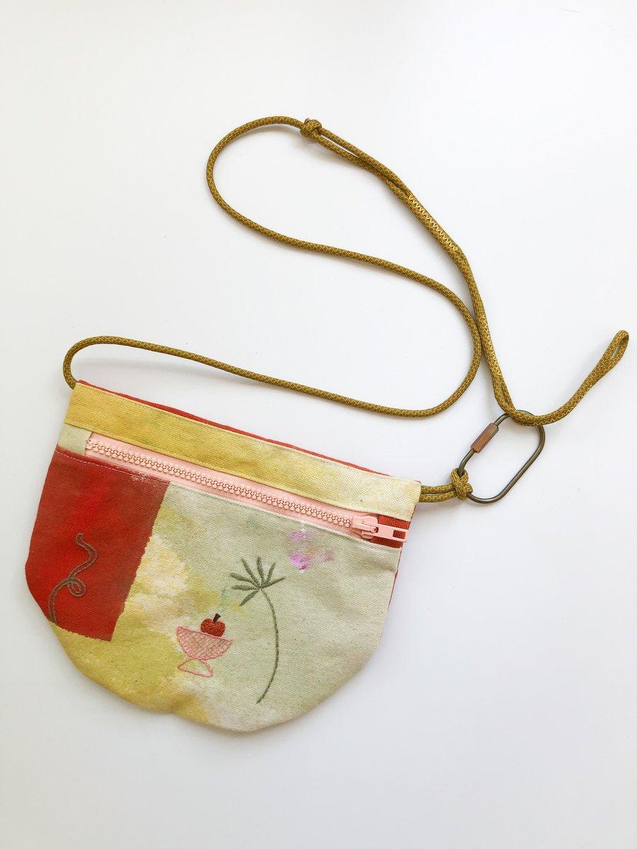 Image of U.BAG x Damaja Palm and Vase Crossbody Bag
