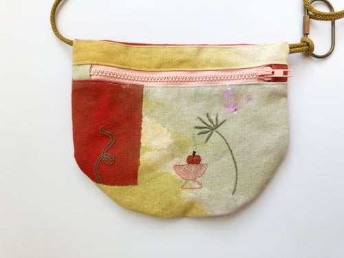 Image of U.BAG x Damaja Palm and Vase Crossbody Bag