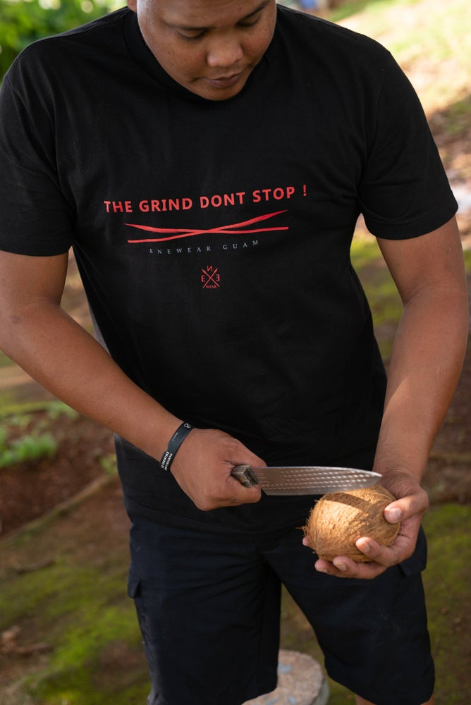 Image of The Grind Don't Stop! Blk