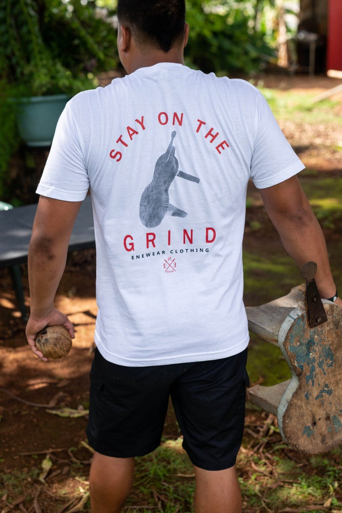 Image of The Grind Don't Stop White
