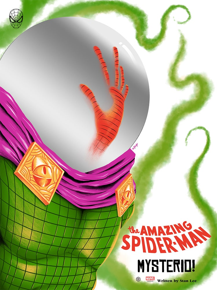 Image of The Amazing Spiderman Mysterio