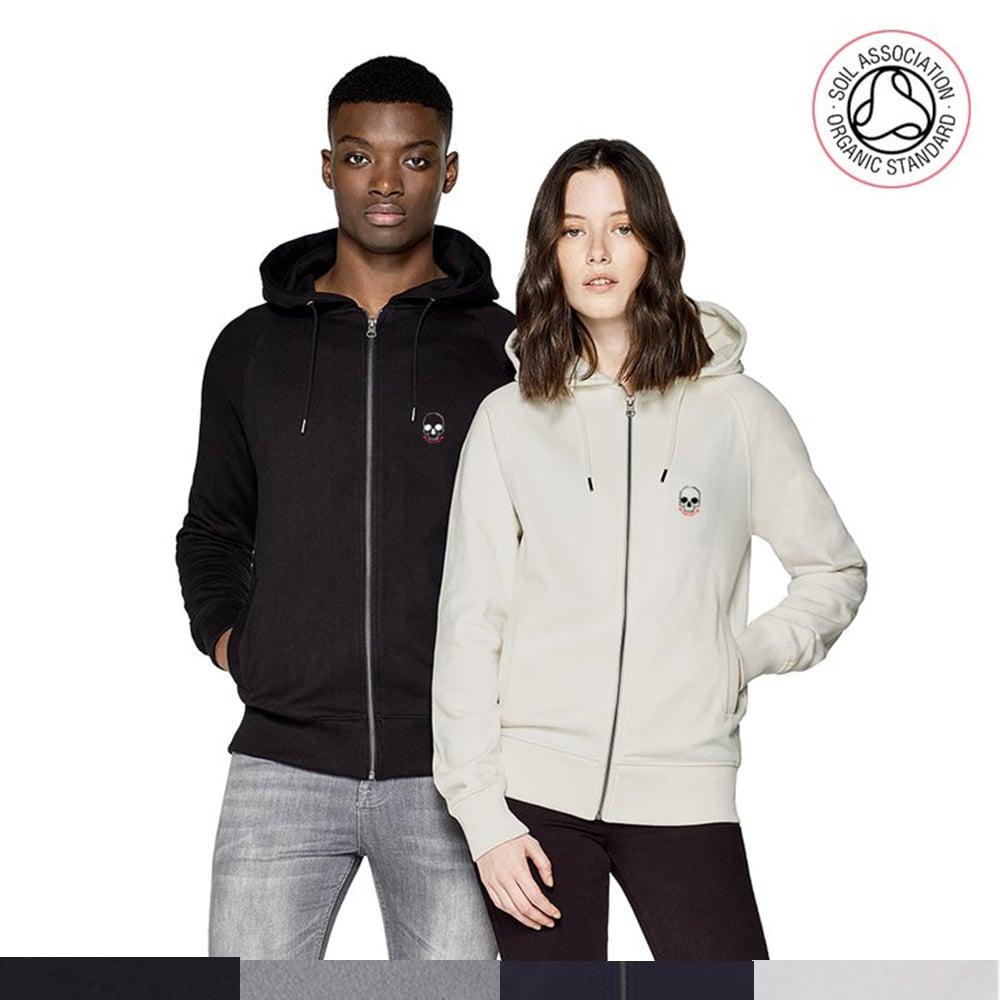 ADVANCE ORDER - Logo Zip Up Hood (Organic)