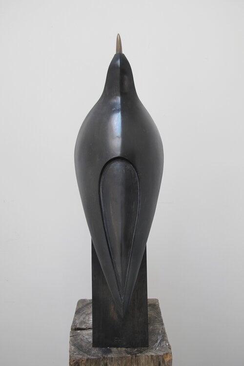 Image of PAUL HARVEY - 'BLACKBIRD SINGING' - SCULPTURE