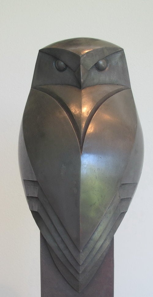 Image of PAUL HARVEY - 'LITTLE OWL' - SCULPTURE