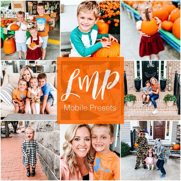 Image of PRESALE -- Fall Mobile Presets
