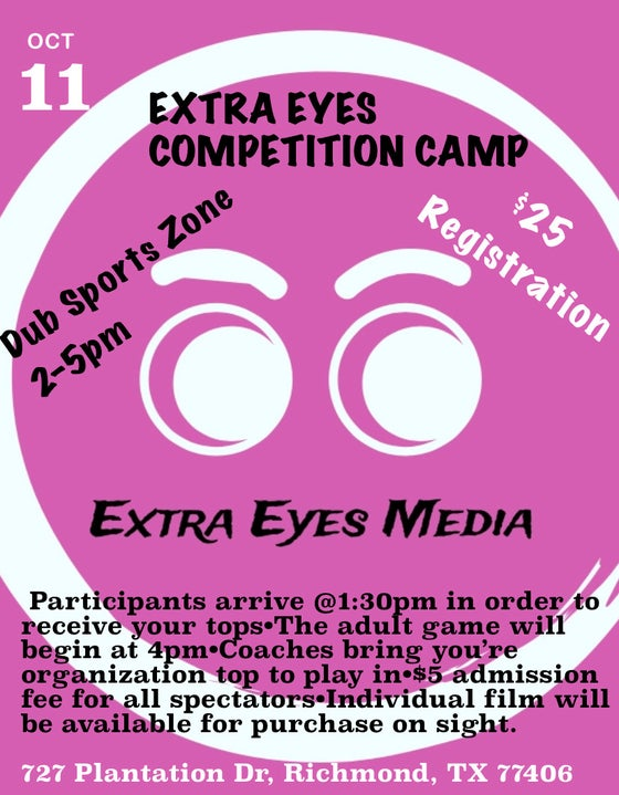 Image of Extra Eyes Competition Camp