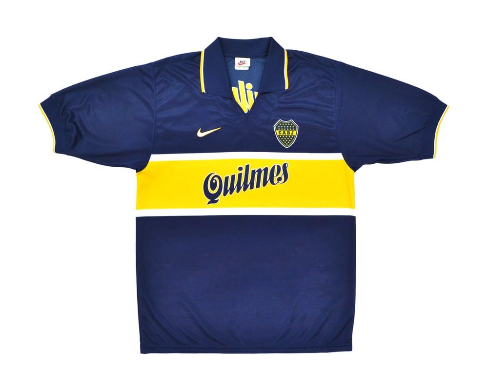 Image of 1996-97 Nike Boca Juniors Home Shirt L