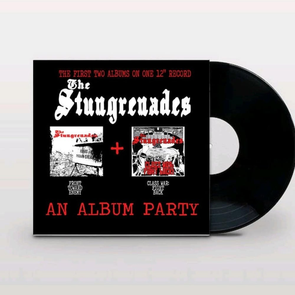 "The Stungrenades ""An Album Party"" black vinyl"