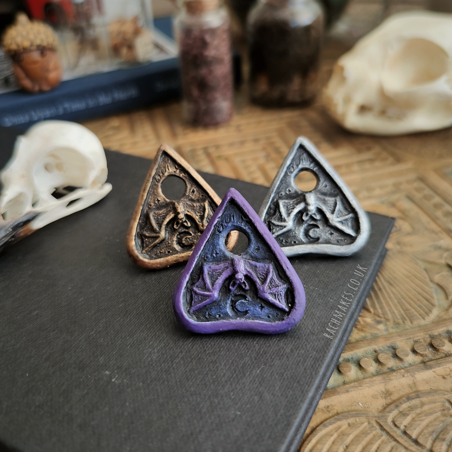 Image of Bat Planchette Pin