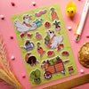 Little Farmer Puffy Stickers