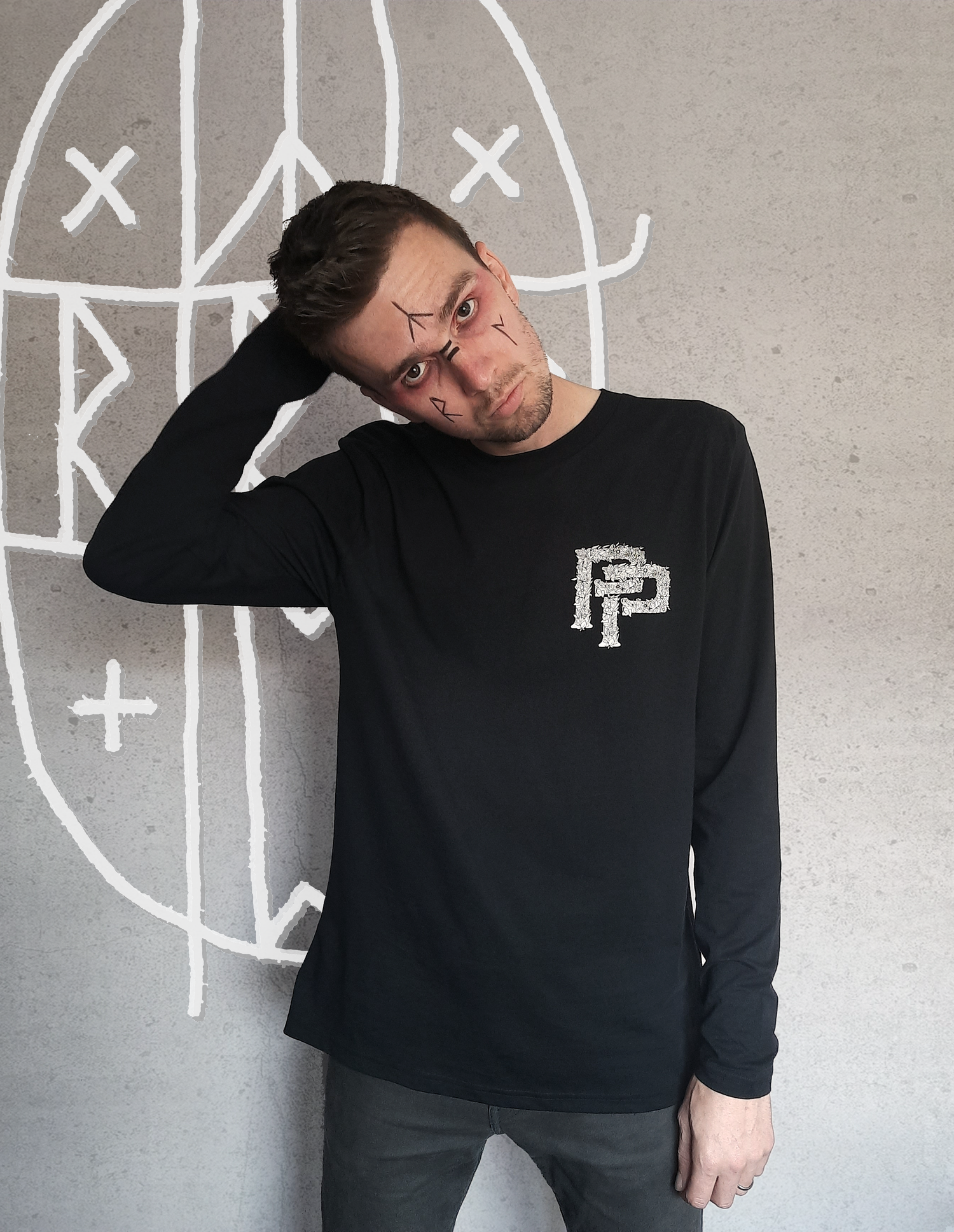 Image of 'Midsommpurr' Long Sleeve T-Shirt