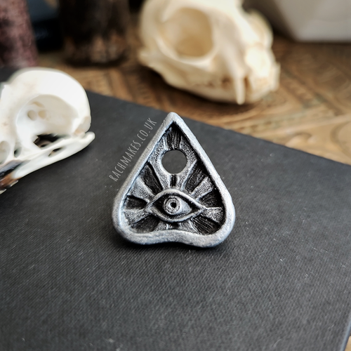 Image of All Seeing Eye Planchette Pin.