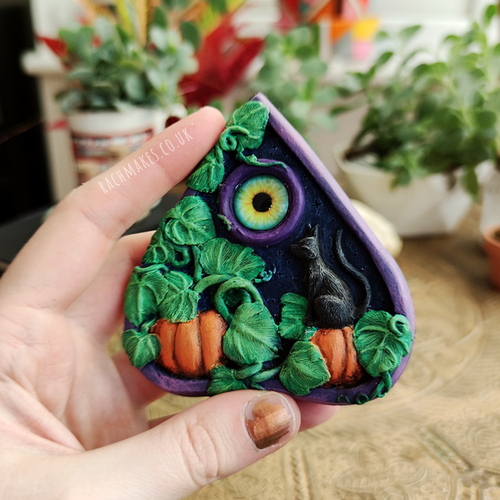 Image of Pumpkin Patch Planchette - wall plaque