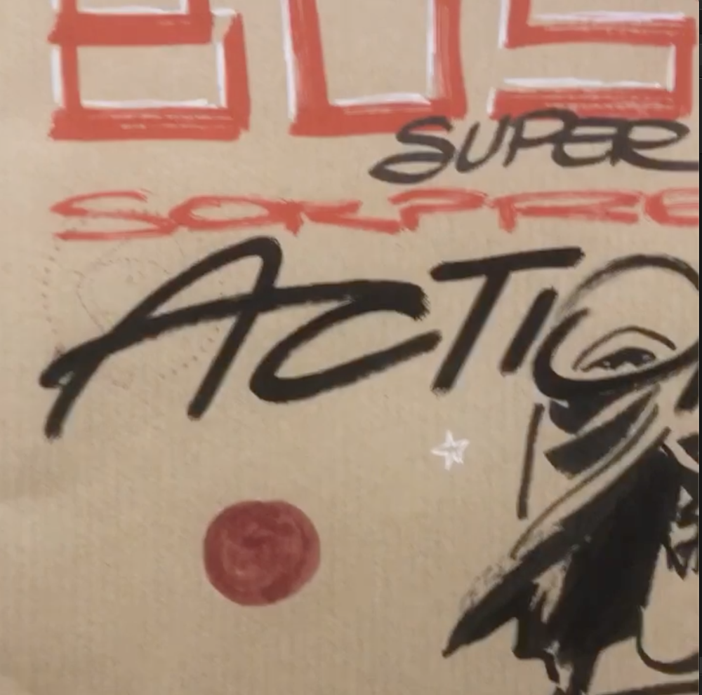 Image of BUSTA SUPER ACTION30 comix