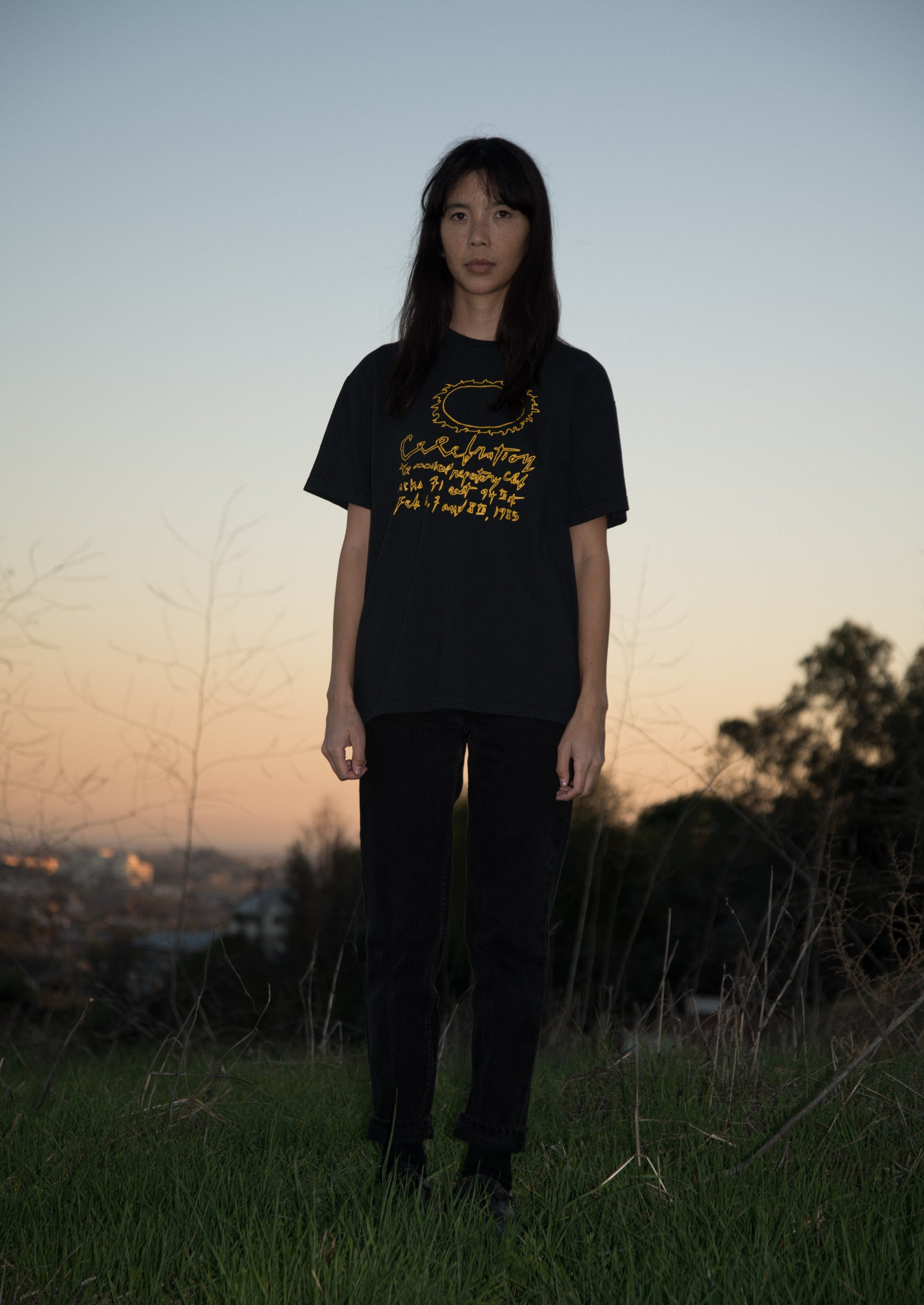 Image of S/S Celebration Tee - Black / Yellow