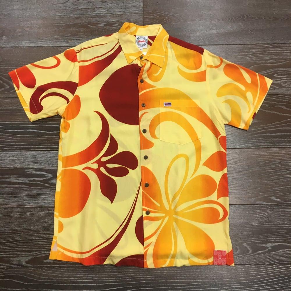 Image of Plumeria Haze Men's Aloha Shirt