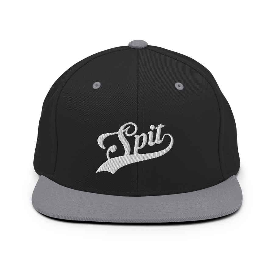 Image of Spit Home Snapback (Black,Grey)