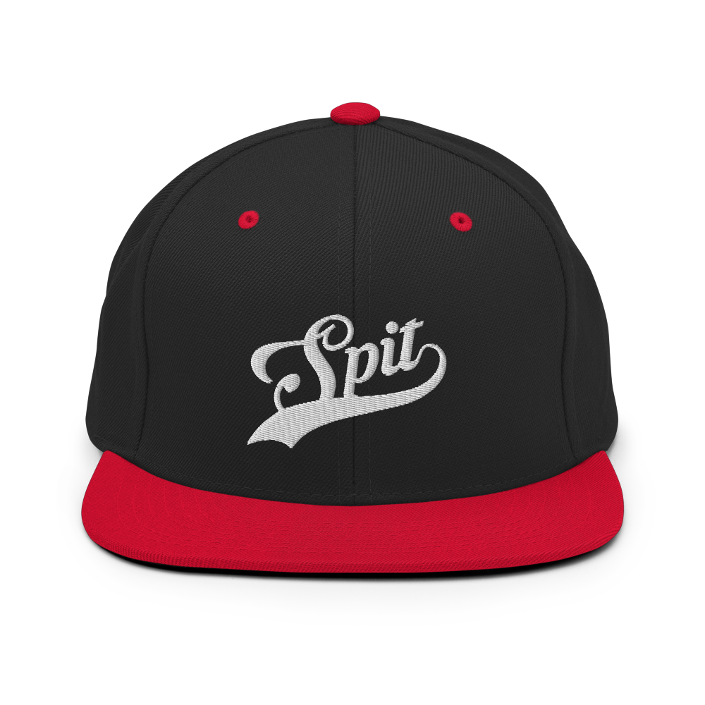 Image of Home Run Snapback (Black,Red)
