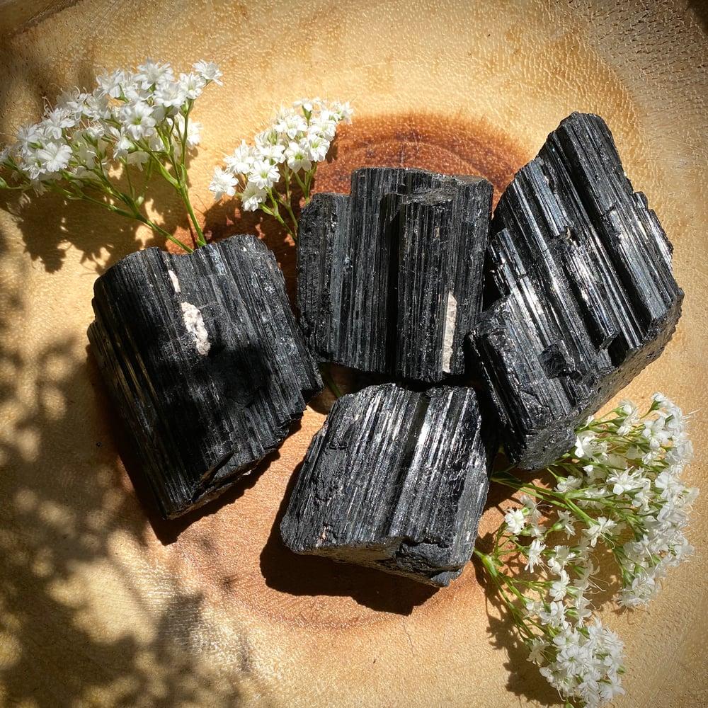 Image of Raw Black Tourmaline Chunk