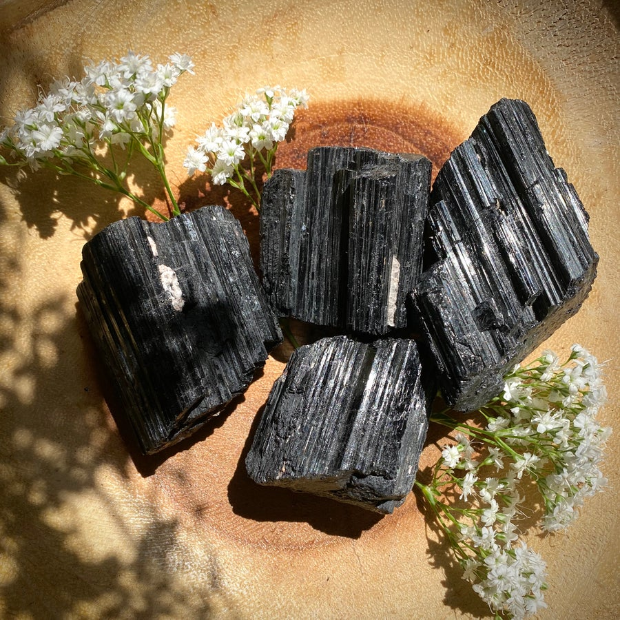 Image of Raw Black Tourmaline Chunk