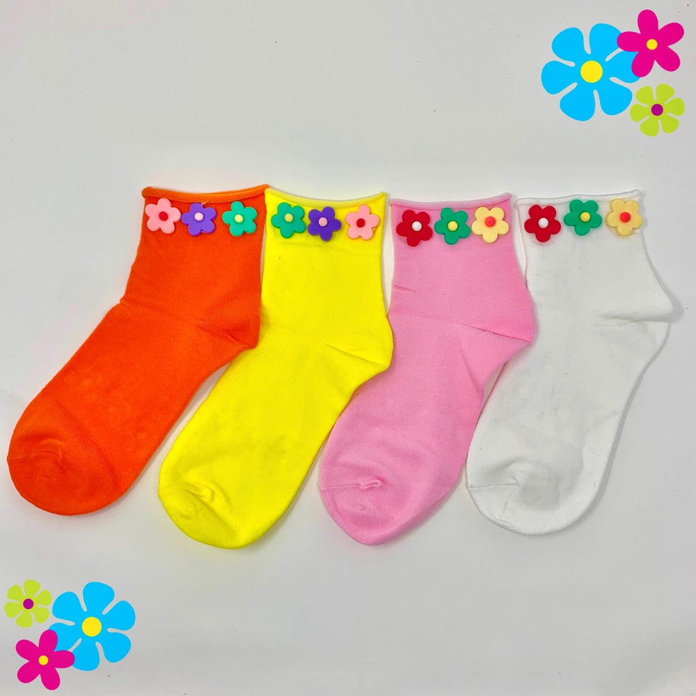 Image of ✿ Flower Power Socks ✿