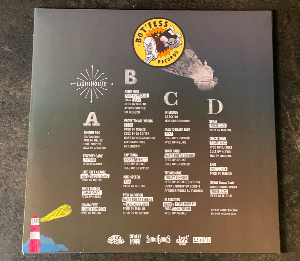 Image of Bot'Fess Records Present The Lighthouse Album (Vinyls 2LP)