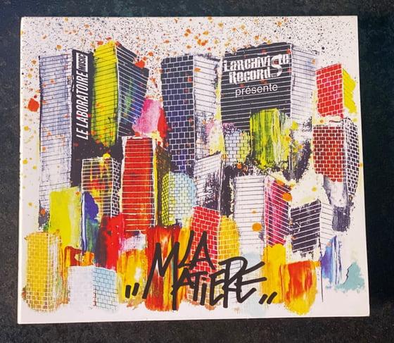 Image of La Matière (D'ter,Meraxx, Tonto Noiza) - La Matière (2019) (CD)