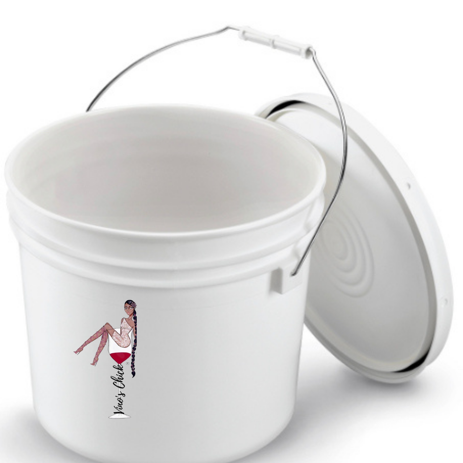 Image of 2 Pack - 2 Gallon Primary Fermentation Buckets and Lid