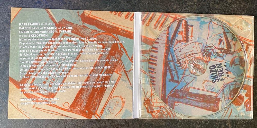 Image of Skizofren - The Lost Tapes 1997-2000 (CD)