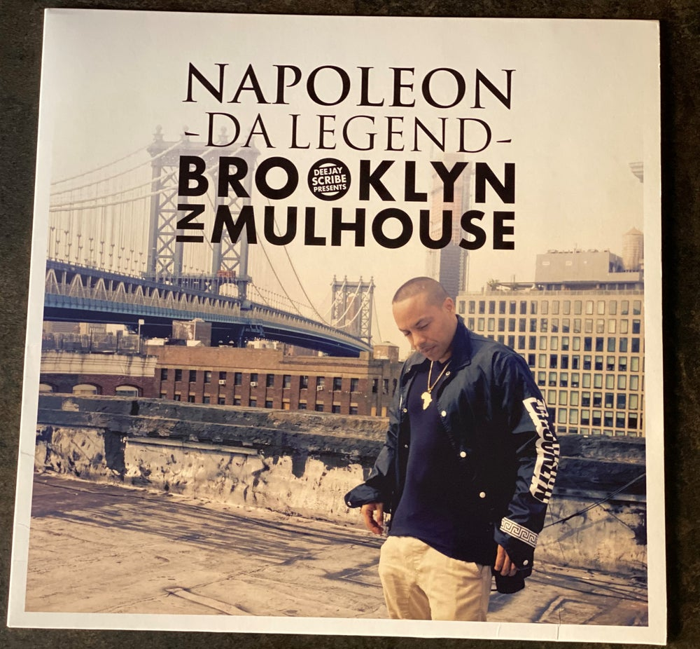 Image of Deejay Scribe And Napoleon Da Legend - Brooklyn In Mulhouse (VINYL)