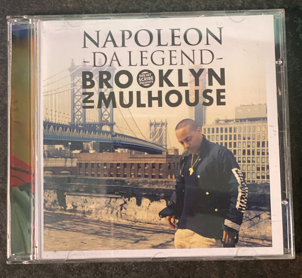 Image of Deejay Scribe And Napoleon Da Legend - Brooklyn In Mulhouse (CD)