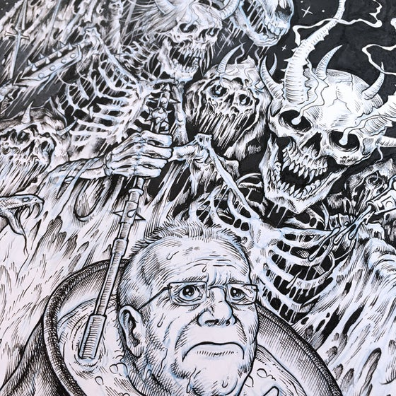 Image of Scomo in Hell