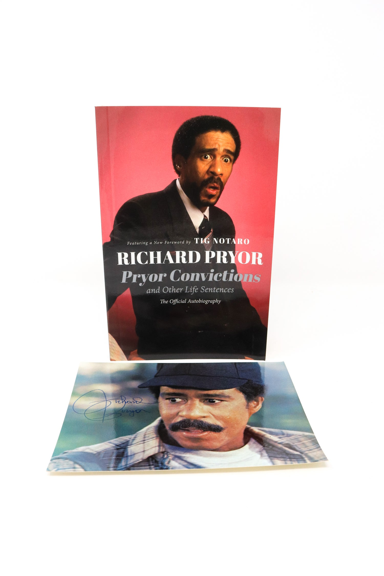 Image of Richard Pryor - Pryor Convictions Autobiography Book