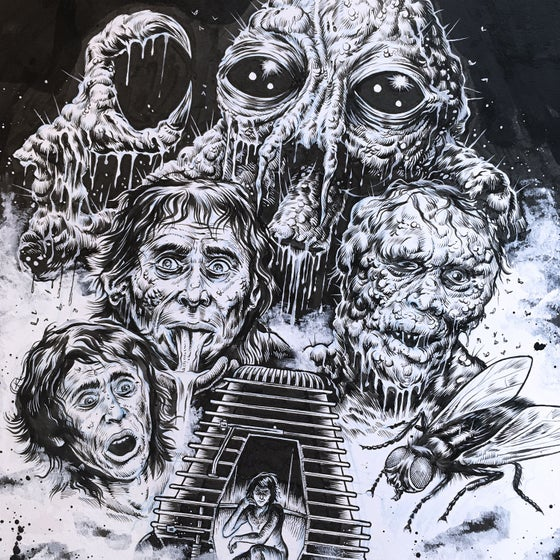 Image of The Fly - Original Artboard