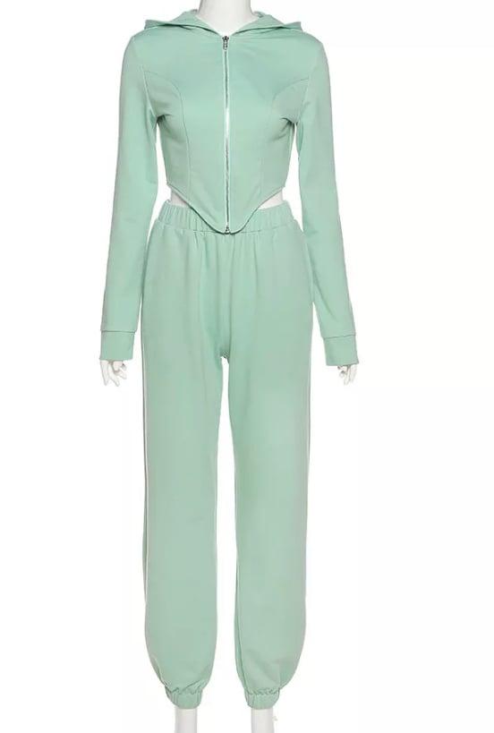 Image of Mint | Pants Set