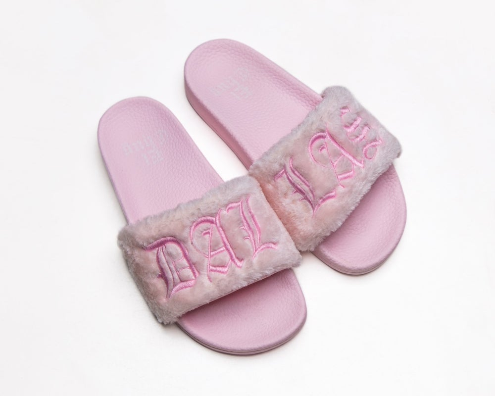 Image of PINK VANILLA COTTON CANDY SLIDES (NOW SHIPPING)