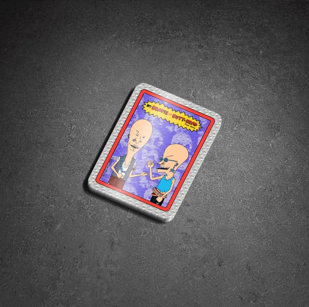Beavis and Butt-Head - Prismatic Sticker Set 01