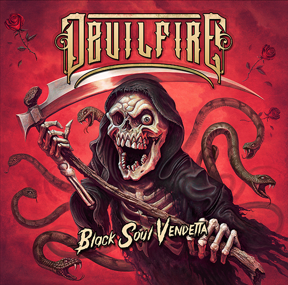 Image of DEVILFIRE - Black Soul Vendetta