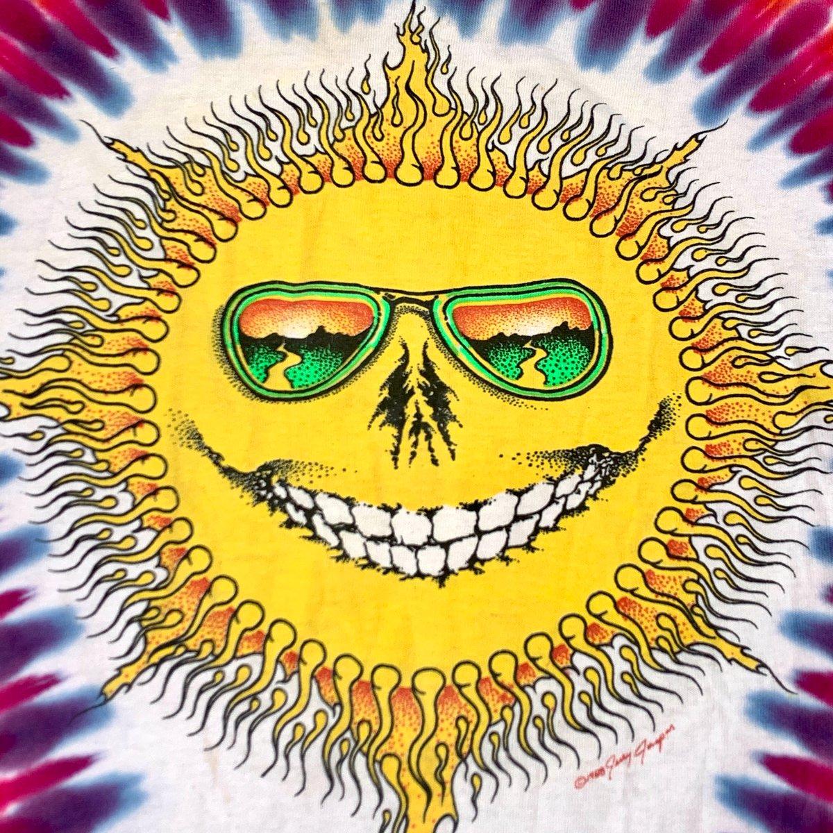 Raffle Tickets! - Original Vintage Grateful Dead 80's Jerry Jaspar Tie Dye Tee  Prize Package!