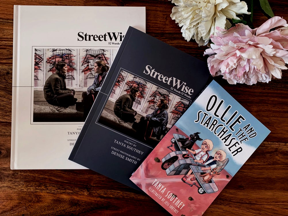 Image of BOOK LAUNCH BUNDLE: StreetWise Hardcover, Paperback and Ollie and the Starchaser
